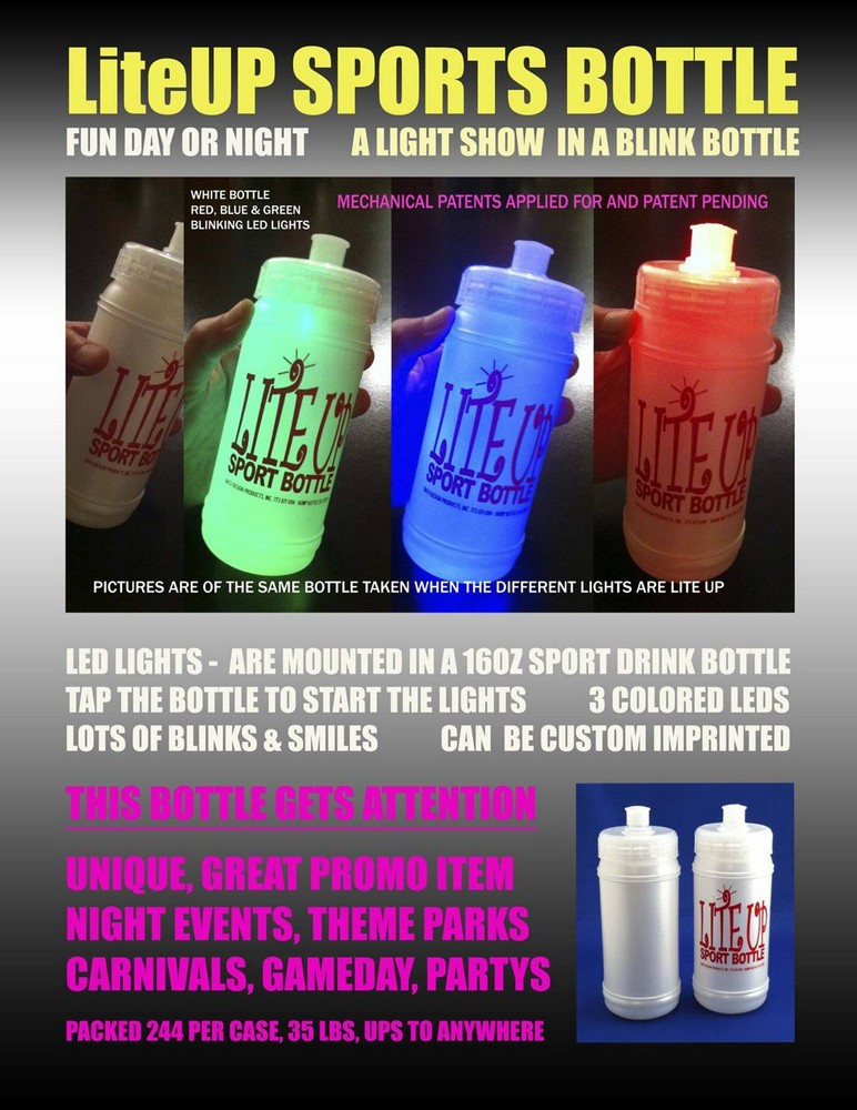 Our Exclusive LiteUP SPORTS BOTTLE